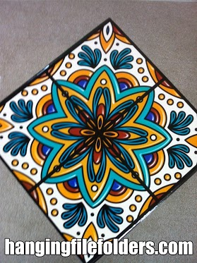 decorative file folder design